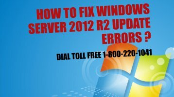 How to Fix Windows Server 2012 R2 Update Errors 18002201041