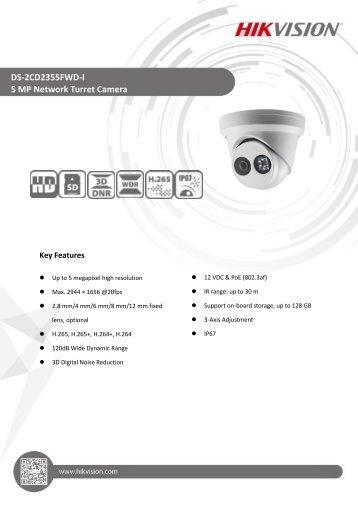 DS-2CD2355FWD-I(4mm)