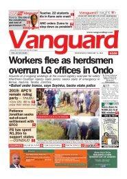 14022018 - Workers flee as herdsmen overrun LG offices in Ondo