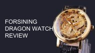Forsining Dragon Mechanical Watch Review