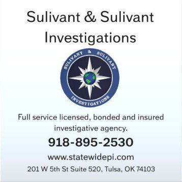Private Investigator Tulsa