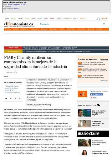 FIRMA FIAB-CLEANITY 2018