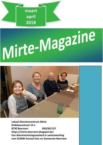 Mirte-Magazine maart april 2018