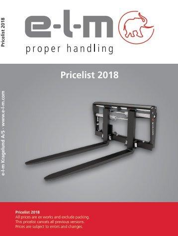 e-l-m Pricebook 2018-01