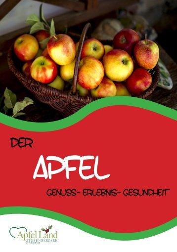 Der Apfel- Genuss- Erlebnis- Gesundheit