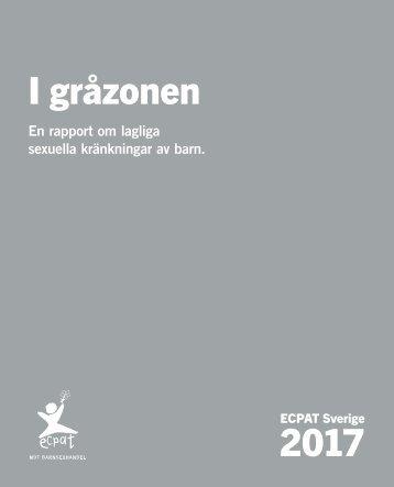 ECPAT Gråzonsrapport 2017