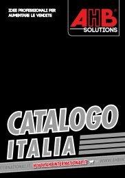 AHB Italia Catalogo