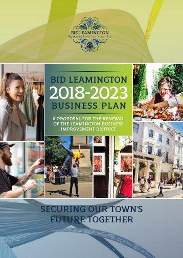 BID Leamington Business Plan 2018-2023