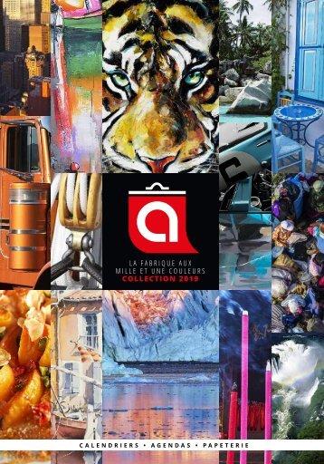 Catalogue Calendriers Alexandre et Blocs de Com 2019