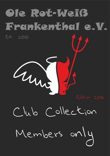 Collection Ole Rot-Weiss