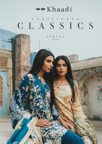 Khaadi Unstitched Spring 2018 - Classics