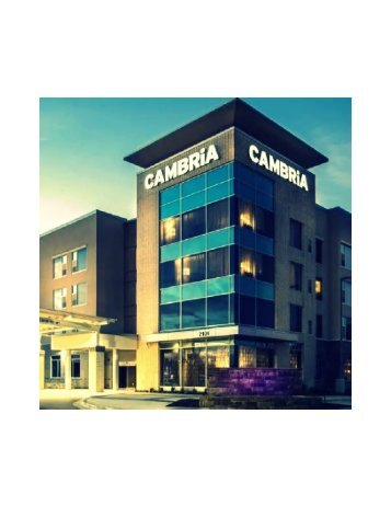 Cambria hotel and suites Southlake DFW North 9 minutes drive to the east of Southlake dentist Huckabee Dental