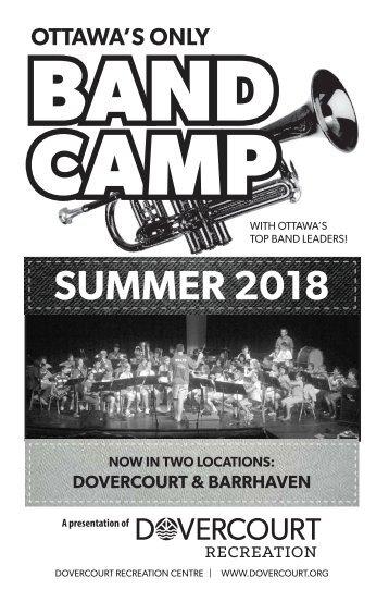 Dovercourt Band Camp 2018