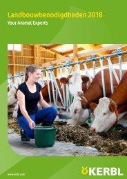 Agrodieren.be landbouwbenodigdheden en erf catalogus 2018
