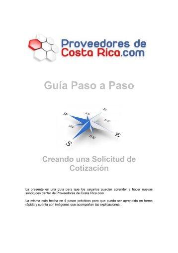 Guía Paso a Paso - Solicitudes (Costa Rica)
