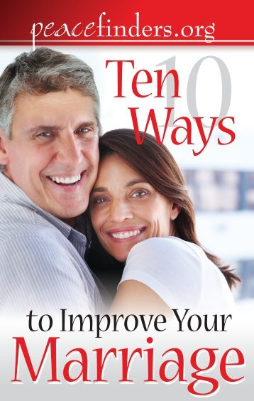 10 Ways To Improve Your Marriage