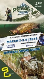 2018 27th Annual BC Sportsmen's Show