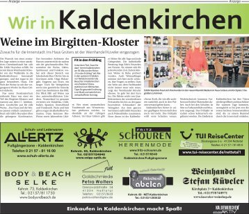 Wir in Kaldenkirchen  -15.02.2018-