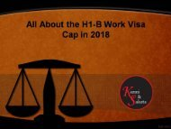 All About the H1-B Work Visa Cap in 2018