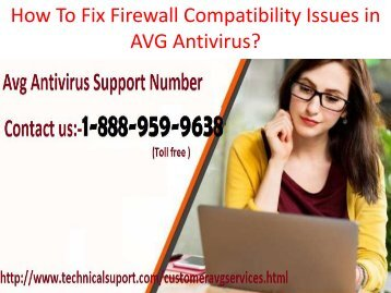 Avg Antivirus Not Responding Service Number 1-888-959-9638 Avg Not Working Support Number