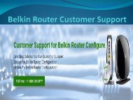 Dial 18002046959 Belkin Router Customer Support