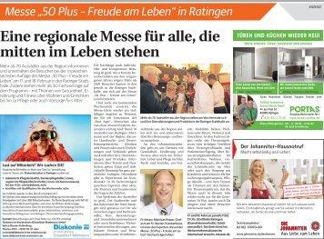 "Messe ""50plus - Freude am Leben"" in Ratingen  -15.02.2018-"