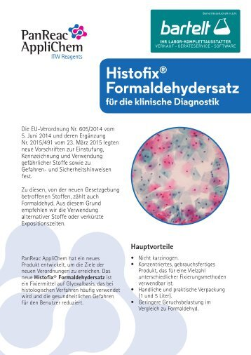 Bartelt - AppliChem - Histofix