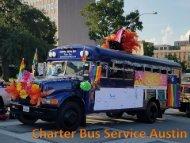 Charter Bus Service Austin