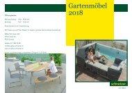 Broschüre Gartenmöbel 2018