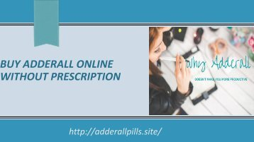 Buy Adderall Online Without prescription