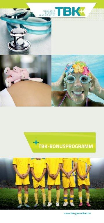 TBK-BONUSPROGRAMM