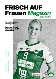 Ausgabe 6 - Saison 2017/2018 - FRISCH AUF Frauen Magazin