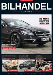 Bilhandel Selected februar 2018