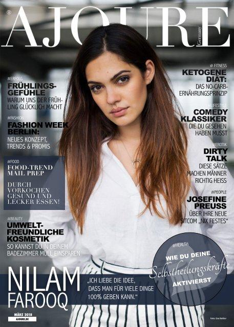 AJOURE´ Magazin März 2018