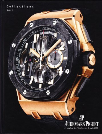 Audemars piguet catalogue 2010 french.PDF
