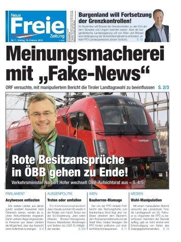 """Meinungsmacherei mit """"Fake-News"""""""