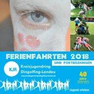 2018 Ferienprogramm