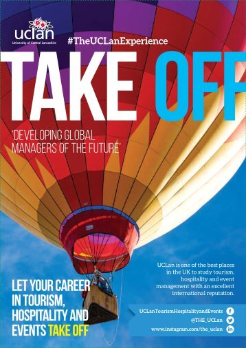 UCLan Take Off Magazine