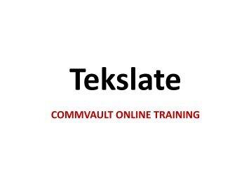 CommVault Training, CommVault Training Videos Free, CommVault training, CommVault Training Material, CommVault Training pdf, CommVault Core Fundamentals Training, CommVault Training in Hyderabad