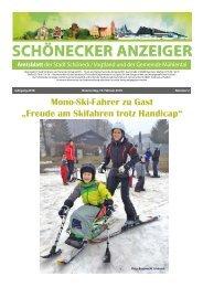 Schönecker Anzeiger Februar 2018