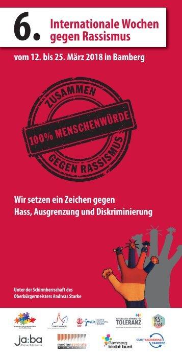 Internationale Wochen gegen Rassismus 2018 in Bamberg