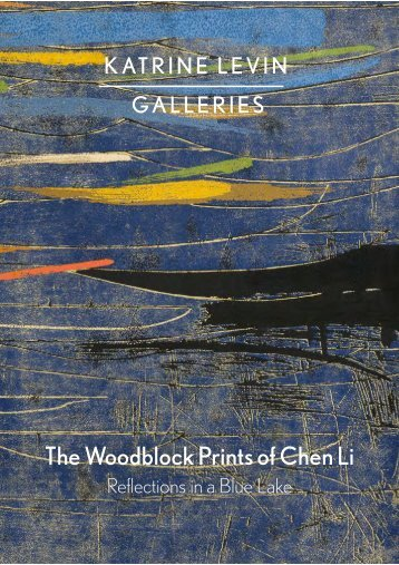Chen Li Woodblock Prints - Reflections - PDF of catalogue