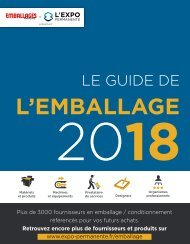 Guide de l'Emballage 2018