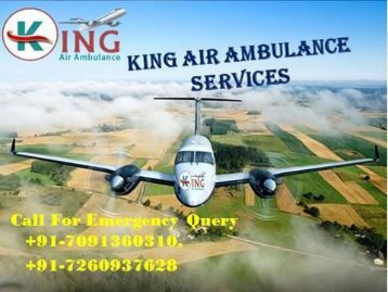 High Quality and Cost Effective Air Ambulance Service in Delhi