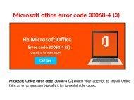 Fix Microsoft Office error code 30068-4 Call 1-888-909-0535