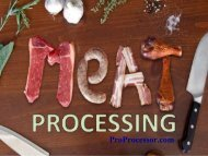 Meat Processing Tools | Commercial or Home Use
