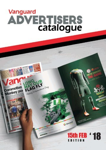 advert catalogue 15 February 2018