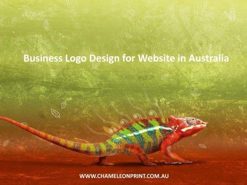 Business Logo Design for Website in Australia - Chameleon Print Group