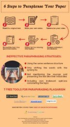 6 Steps to Paraphrase Your Paper