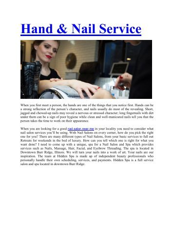 The Hidden Spa -  Service Provider of Gel Nail Extension & Nail Art